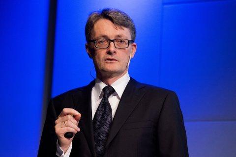 HELT PÅ TOPP: Aker-sjef Øyvind Eriksen er Norges best betalte toppsjef.