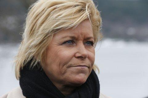 Finansminister Siv Jensen vil legge ned Etikkrådet til Oljefondet.