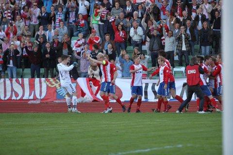 Lyn er i år tilbake på banen som var lagets hjemmebane før konkursen i 2010. I 2012 møttes også Lyn og Vålerenga i cupen foran 11.000 tilskuere på samme sted.