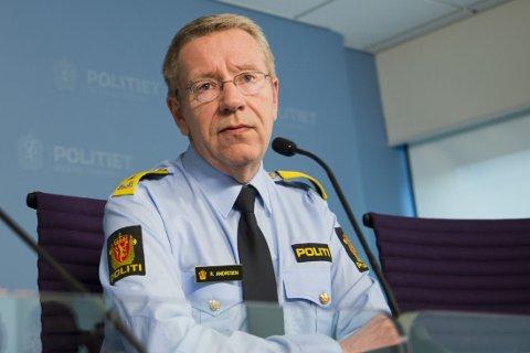 ADVARER: Oslos visepolitimester Roger Andresen mener et lokalt tiggeforbud vil være vanskelig å håndheve og at det i praksis blir vanskelig å inndrive forelegg.