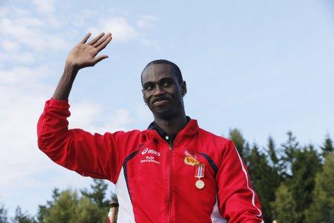 SUPERLØP: Jaysuma Ndure leverte et godt løp i Florø.