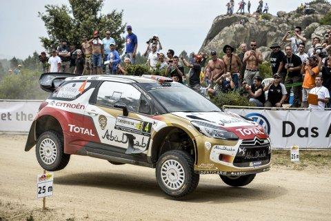 NUMMER TO: Mads Østberg sikret seg en andreplass i Rally Italia.