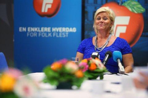 Finansminister og leder i Fremskrittspartiet, Siv Jensen, holdt onsdag en pressekonferanse for å oppsummere de åtte første månedene i regjering. Her listet hun opp vedtak og reformer som hun mener viser at partiet har satt preg på politikken.