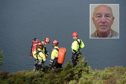 Her søker de etter savnede Agnar Ingemar Holtås (74).