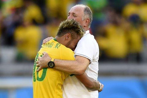 FÅR KJEFT: Luiz Felipe Scolari får gjennomgå etter Brasil sjokktap i VM.