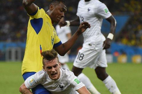 IMPONERTE: Enner Valencia leverte et godt VM.