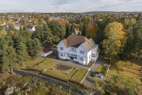 SOLGT: Denne fantastiske eiendommen ble kjøpt av en hittil ukjent Nordstrandsfamilie.