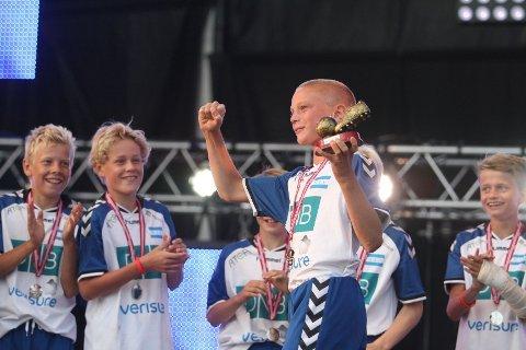 BEST: Midtstopper Christian Fagerlid ble kåret til finalens beste spiller.
