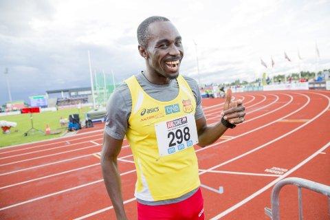VANT: Jaysuma Saidy Ndura vant 100 meter for menn i NM.