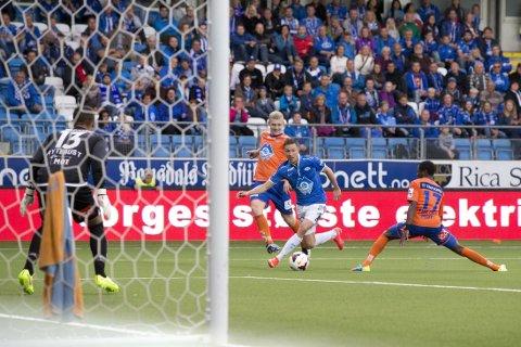 MÅL: Martin Linnes er en av Tippeligaens mest målfarlige forsvarspillere.