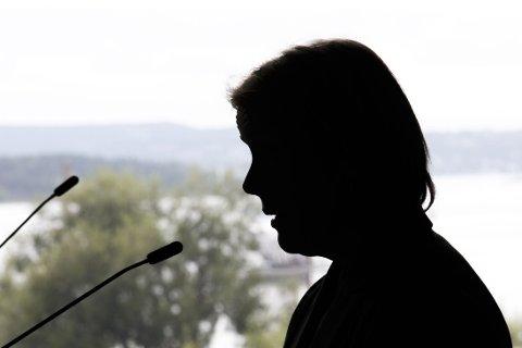 DIALOGMØTE: PST sjef Benedicte Bjørnland var tilstede da Oslo byråd holdt et dialogmøte for et felles løft mot ekstremisme og radikalisering i Oslo Rådhus mandag.
