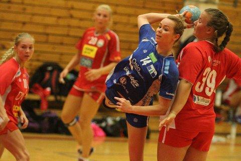 TOPPSCORER: Strekspiller Martine Welfler ble kampens toppscorer med sine syv mål.