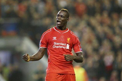 VIL BLI BEDRE: Liverpool-manager Brendan Rodgers tror Mario Balotelli vil vokse i spissrollen utover sesongen.