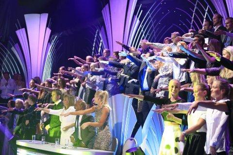 Zahid og sangen Macarena fikk både dommere og publikum til å reise seg.