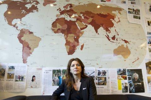 DØDELIG SYKDOM: Ebola er en av verdens mest dødelige sykdommer, og Leger Uten Grenser har stått i bresjen for å slå ned epidemien i Vest-Afrika. Nå har en norsk feltarbeider pådratt seg smitten, men allerede neste uke sender generalsekretær Anne-Cecilie Kaltenborn nye norske feltarbeidere til Vest-Afrika.