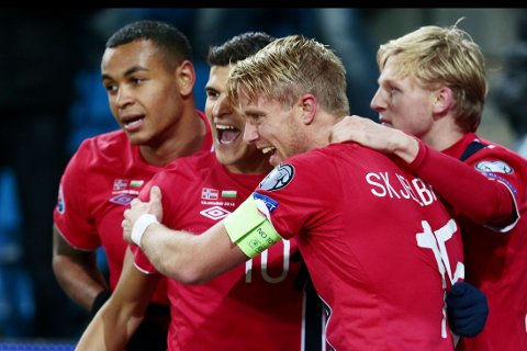 SEIER: Norge slo Bulgarias på Ullevaal stadion.