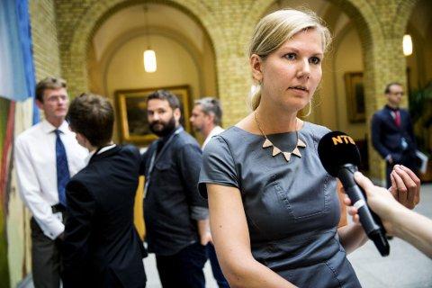 KRITISERER STATSBUDSJETTET: Marianne Marthinsen (Ap) fastholder at denne regjeringen har de mest ekspansive budsjettene på flere tiår.