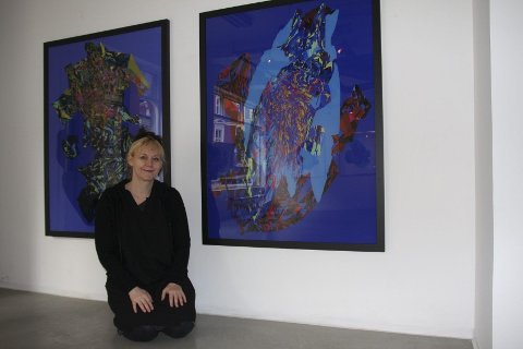PIA MYRVOLD i Oslo og Paris: Galleri Ramfjord på St. Hanshaugen viser i disse dager Myrvolds utstilling Truth on the Edge of Reality, mens franskmenn kan glede seg over hennes interaktive utstilling Art Avatar i Centre Pompidou i november. FOTO: ELLEN RØNNING