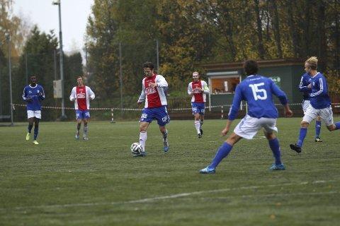 SCORET: Christoffer Dahl sendte Kåffa i ledelsen ti minutter ut i 2. omgang etter en suser i vinkelen.