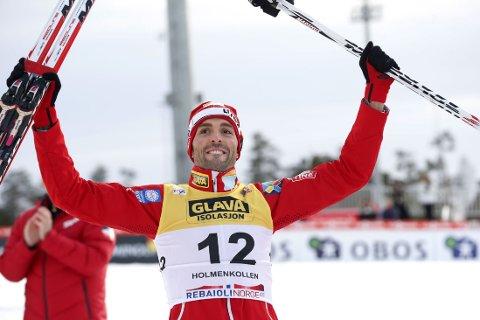 SLIPPER OPERASJON: Kombinertløper Magnus Moan.