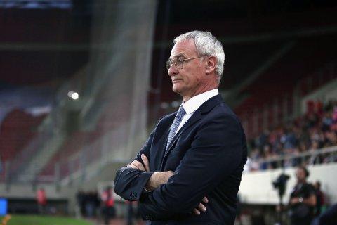 I TRØBBEL: Claudio Ranieris Hellas er i kjempetrøbbel etter sjokktapet for Færøyene fredag kveld.