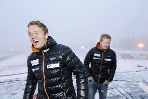 ERKERIVALER: Johannes Thingnes Bø og Tarjei Bø er Emil Hegle Svendsens erkerivaler, sier sistnevnte selv.