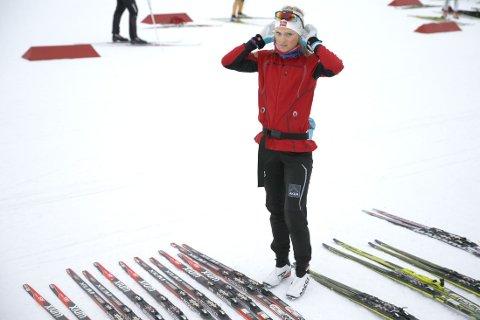 SPENT: Martine Ek Hagen er spent på hva hun kan få til denne sesongen.