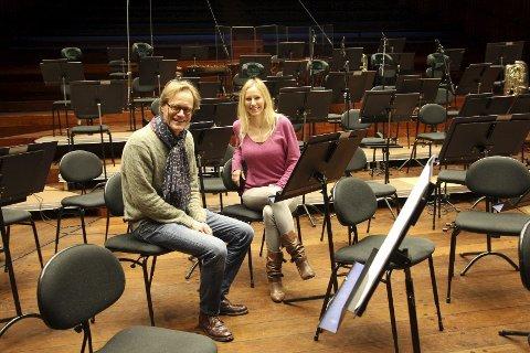 SCENESKIFTE: Fersk direktør for Oslo Konserthus, Jørgen Roll, er trygg på at festivalsjef Mie Skard og hennes team av dyktige damer vil arrangere en finfin Norwegian Wood-festival i 2015. FOTO: ELLEN RØNNING