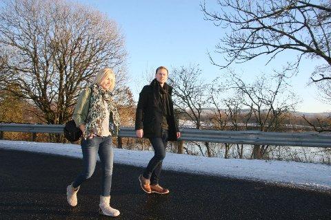 Kristin Tufte Haga og Karl Andreas Kjelstrup skal drive Nordre Aker Budstikke fra januar 2015 på nab.no.