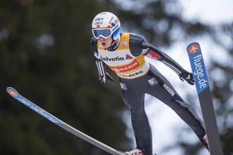 SKUFFET: Anders Fannemel endte helt nede på 22.-plass i hopprennet i sveitsiske Engelberg.