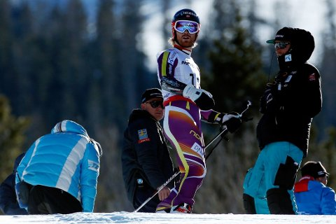 KJØRTE UT: Alpinist Leif-Kristian Haugen.