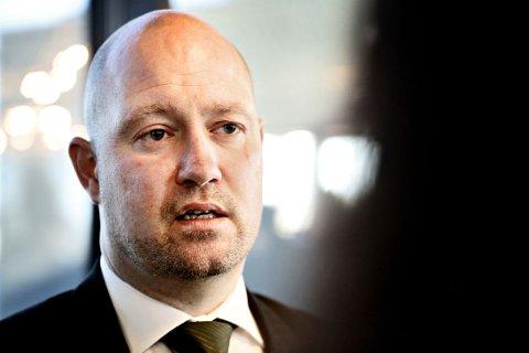 INGEN QUICK FIX: Justisminister Anders Anundsen mener det ikke er noen «quick fix» for å hindre radikalisering i norske fengsel.