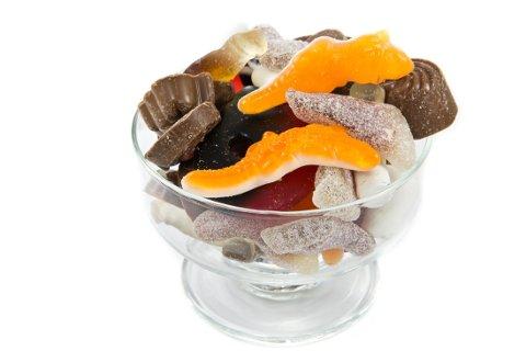 LØRDAGSGODTERI: Hvor mange kalorier inneholder denne skålen?