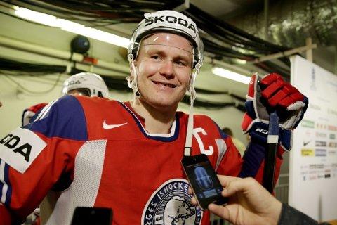 SEMIFINALEHELT: Patrick Thoresen ble den store helten da SKA St. Petersburg utlignet til 3-3 i kamper mot CSKA Moskva.