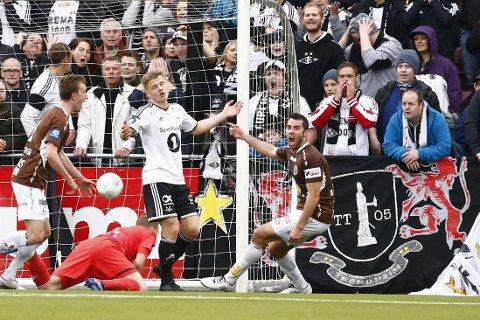 COMEBACK: Mjøndalen nektet å gi seg mot Rosenborg.