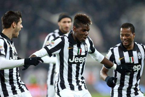 ENORM: Paul Pogba har vært enorm for Juventus denne sesonge, og blir bare bedre og bedre.