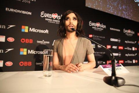 ELSKER OPPMERKSOMHET: Conchita har kun få dager igjen som regjerende Eurovision-vinner. Hun har hatt et fantastisk år.