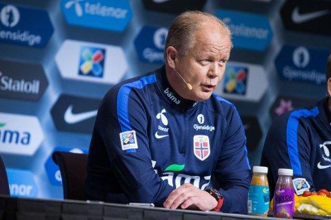 TOK UT TROPPEN: Landslagssjef Per-Mathias Høgmo.