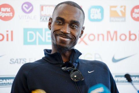 SATSER ALENE: Jaysuma Ndure klarer seg bra uten støtte fra Norges Friidrettsforbund og Olympiatoppen.