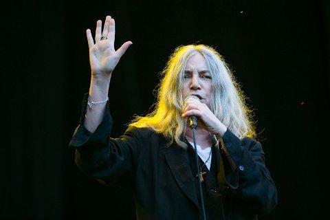 HORSES: Patti Smith gjennomgikk et av de beste albumene noensinne.