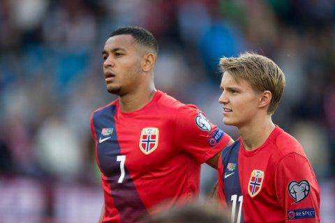 EN TØFF DAG: Norge klarte bare uavgjort mot Aserbajdsjan.
