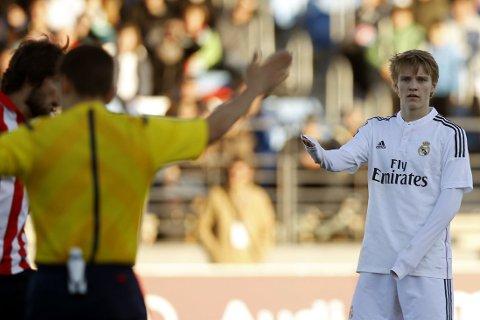BLI I SPANIA: Martin Ødegaard må bli i Spania, mener spaniaekspert Petter Veland.