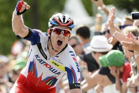 KLAR: Aexander Kristoff er i Katusjas Tour de France-tropp.