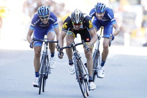 NM-MESTER: Edvald Boasson Hagen vant søndag NM-fellesstarten på sykkel.