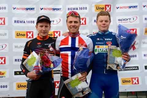 MESTERTRØYE: Edvald Boasson Hagen skal sykle i den norske mestertrøyen, både på tempoetapper og på fellesstarter.