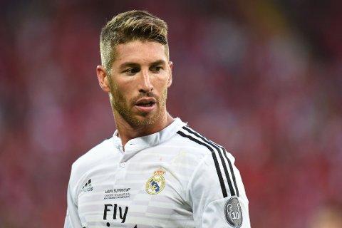 KAPTEIN: Sergio Ramos skal visstnok bli Real Madrids nye kaptein.
