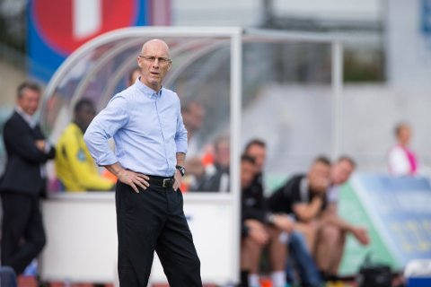 HØYT OPPE: Stabæk-trener Bob Bradley.