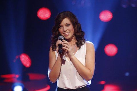 IDOL: Chinook Lamers deltok i Idol 2014, her fra første finalerunde i TV-programmet. Etterpå ble hverdagen tøff for den unge jenta.