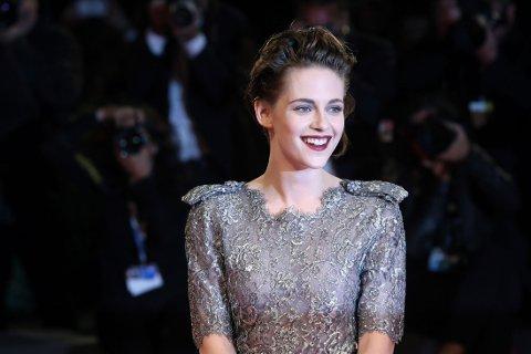 STRÅLTE: Kristen Stewart tok Venezia med storm.