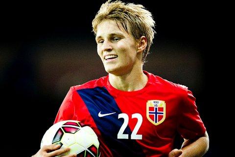 ØNSKET: Martin Ødegaard skal være på radaren til franske PSG.